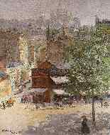 Veduta di Montmartre di Abel Truchet Belle Epoque-2