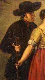 Peinture hollandaise huile sur panneau du 19ème siècle -0
