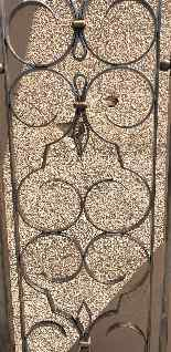 Charles Piguet, Double interior wrought iron door, 20th cent-9