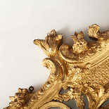 Regency period giltwood mirror, 18th century-1
