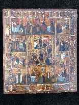 Icone - Episodi Soggetti Della Vita Della Beata Vergine-11