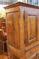 Antica credenza a quattro porte Luigi XIV-4