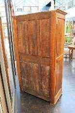 Antica credenza a quattro porte Luigi XIV-7