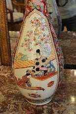 Coppia di vasi giapponesi della fine del XIX secolo-6