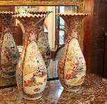 Coppia di vasi giapponesi della fine del XIX secolo-5