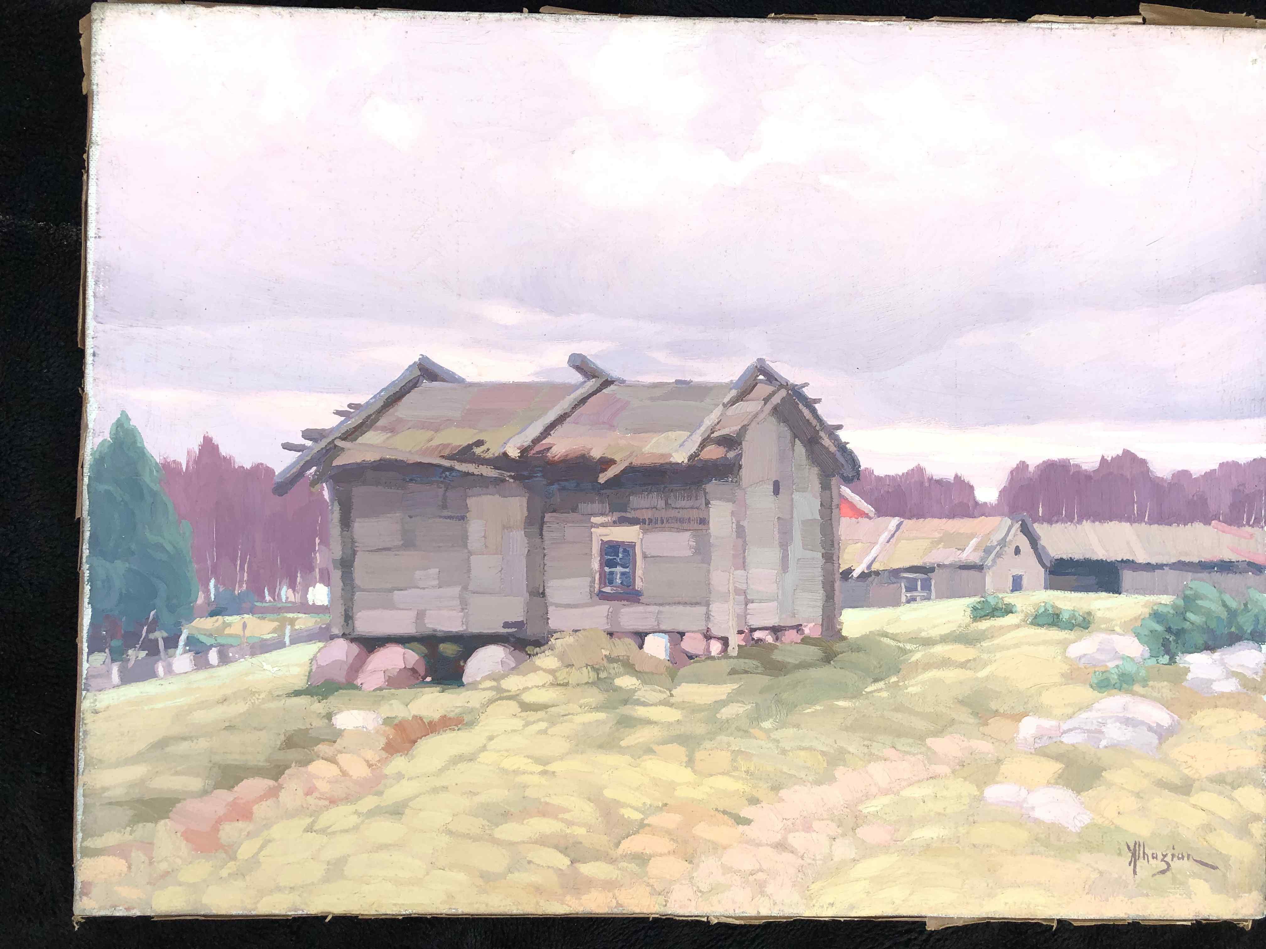 Ohnnès Alhazian (1881-1958) pittore armeno