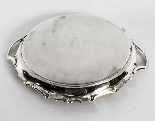 Antique Victorian Silver Plated Tray Walker & Hall 1880-7