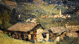 Umberto Moggioli - Mountain Landscape-3