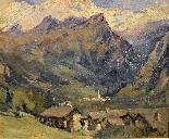 Umberto Moggioli - Mountain Landscape-1