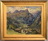 Umberto Moggioli - Mountain Landscape-10