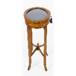 Antique Pair Edwardian Satinwood Bijouterie Display Tables-5