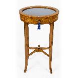 Antique Pair Edwardian Satinwood Bijouterie Display Tables-1