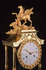Pegasus, A spectacular French Empire pendule-17