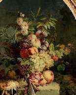 Natura morta con fiori, frutta e cacciagione, Francia-0