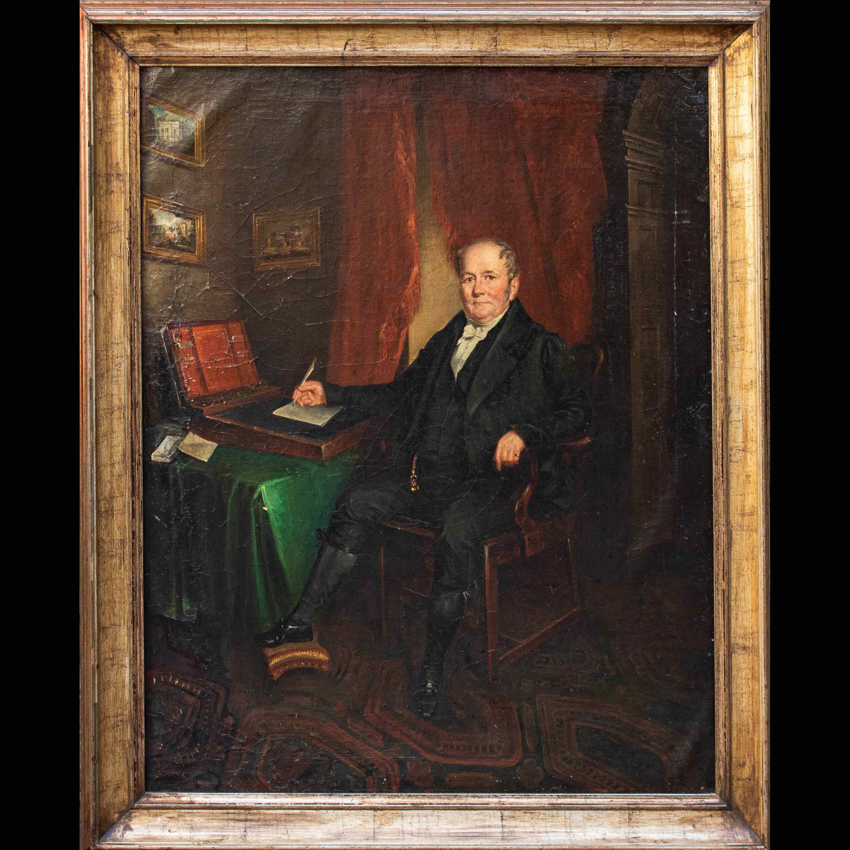 Ritratto di gentiluomo, XIX secolo