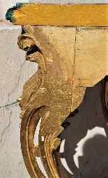 Valerian Rybar, Consolle Rocaille In Legno Dorato, XX Secolo-16