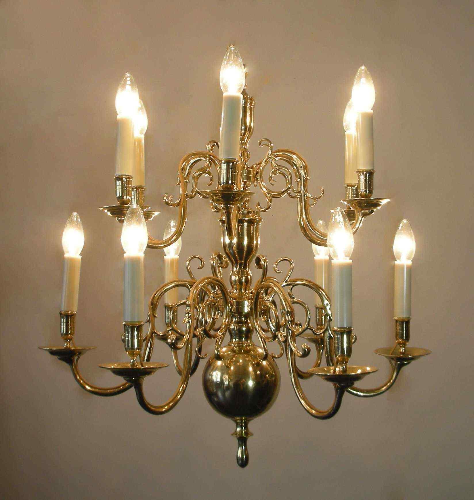 Antico lampadario Olandese