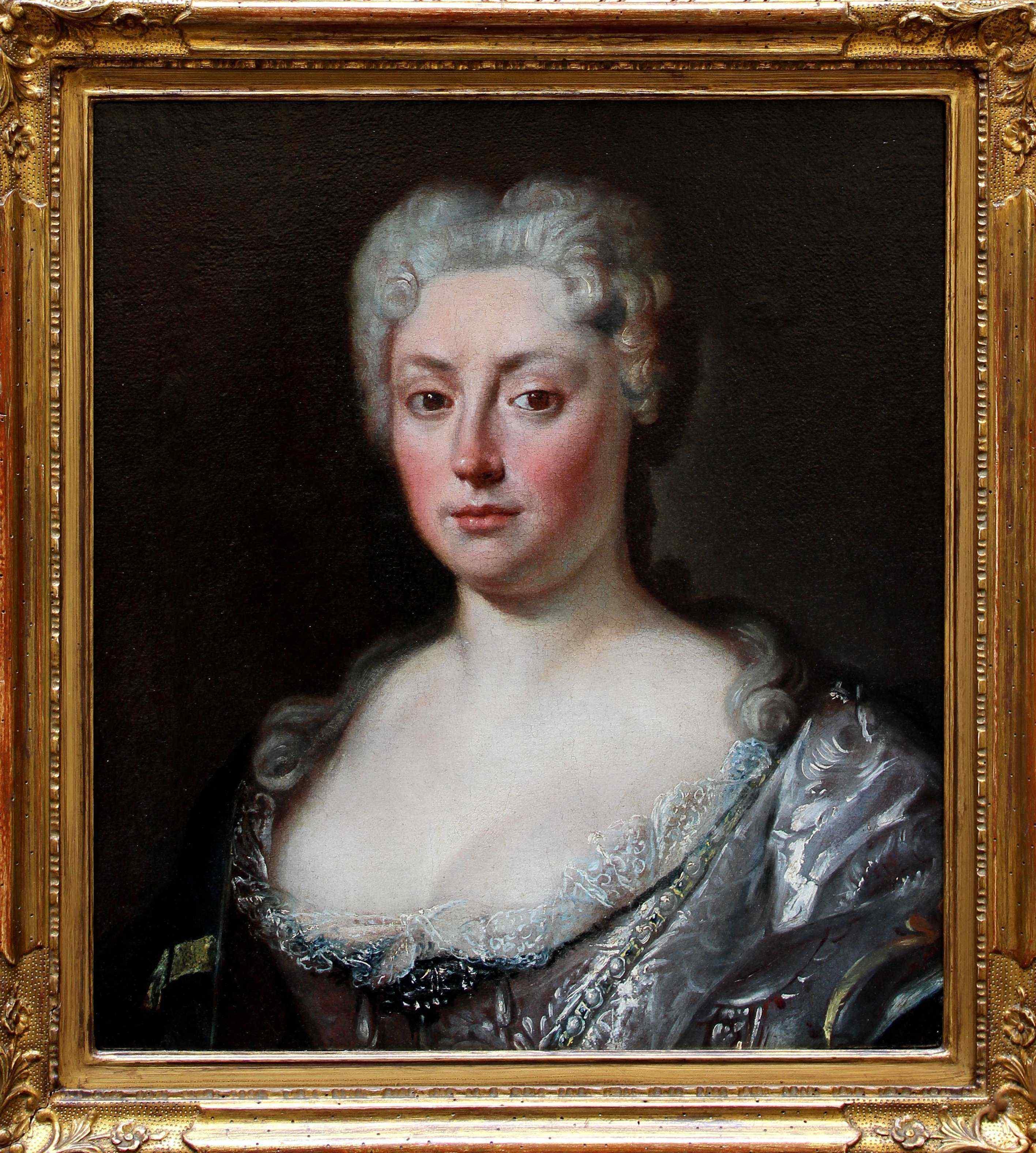 GIACOMO CERUTI (1698 - 1767), RITRATTO DI DAMA, OLIO SU TELA