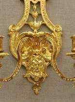 Appliques stile Luigi XIV Inizio XX-4