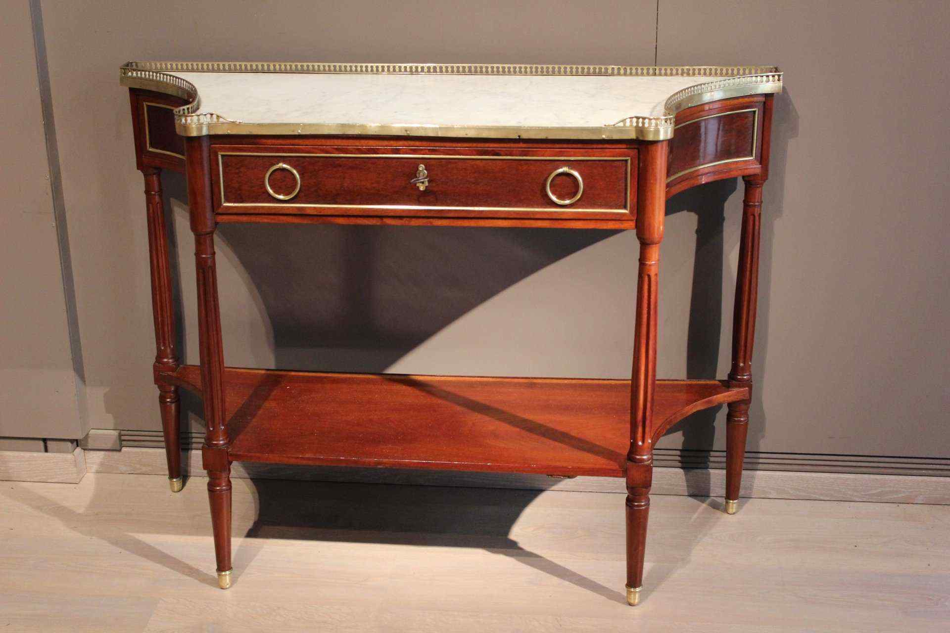antique Louis XVI console