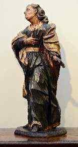 Многохром Деревянные скульптуры-10