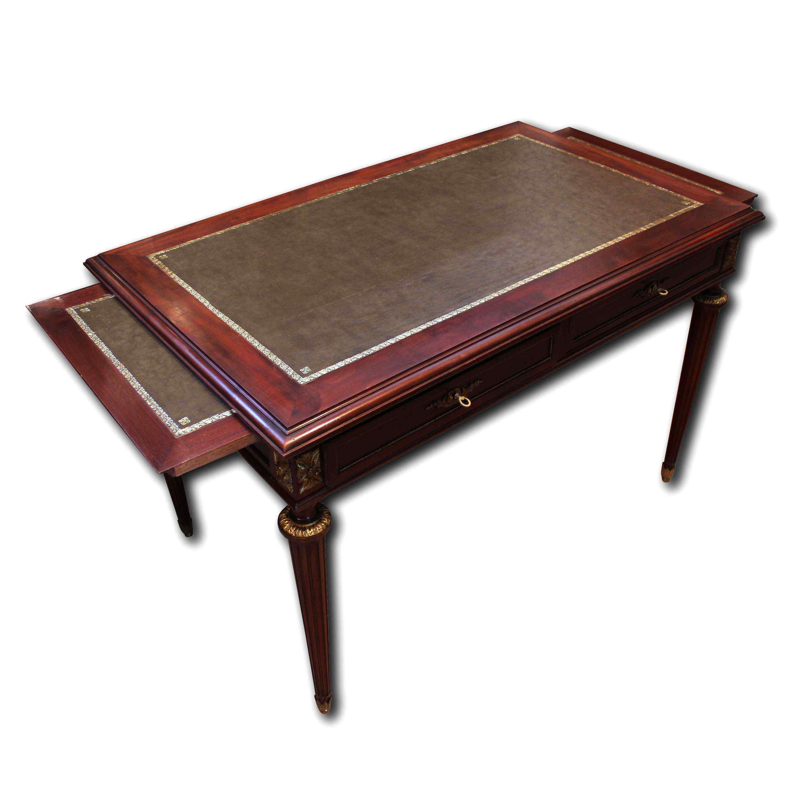 ancient nineteenth century desk