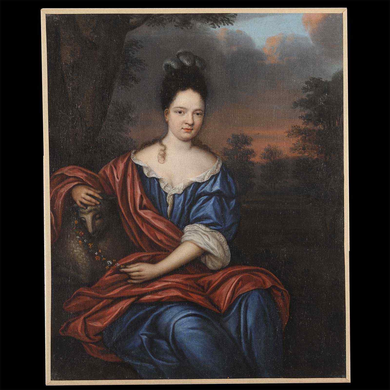 Портрет молодой женщины - Корнелис ван Янссенс Ceulen II