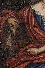 Портрет молодой женщины - Корнелис ван Янссенс Ceulen II-2