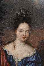 Портрет молодой женщины - Корнелис ван Янссенс Ceulen II-1