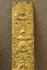 Trophées Militaire en Bas Relief sur Plaque Début XVIIIème-1
