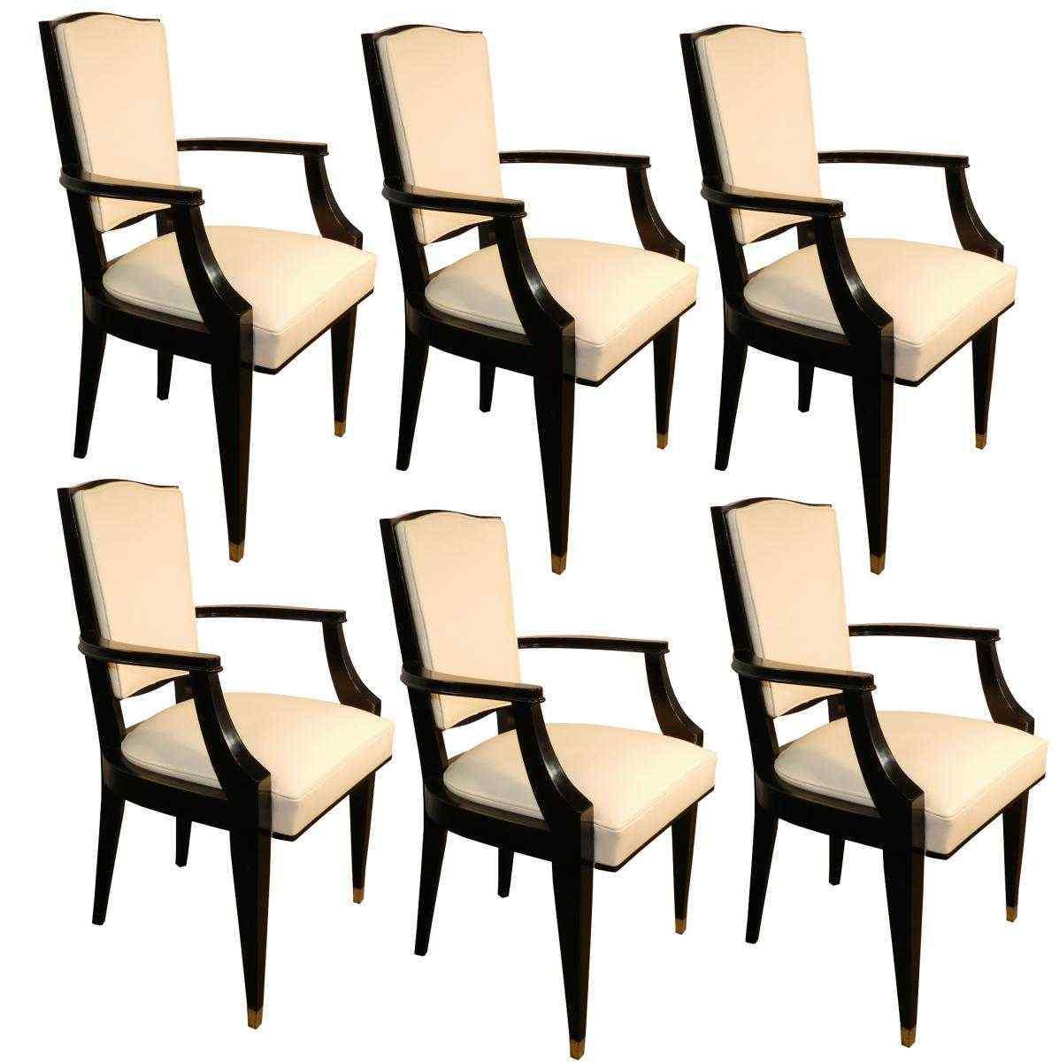 Jean Pascaud, Gruppo di sedie, Art decò