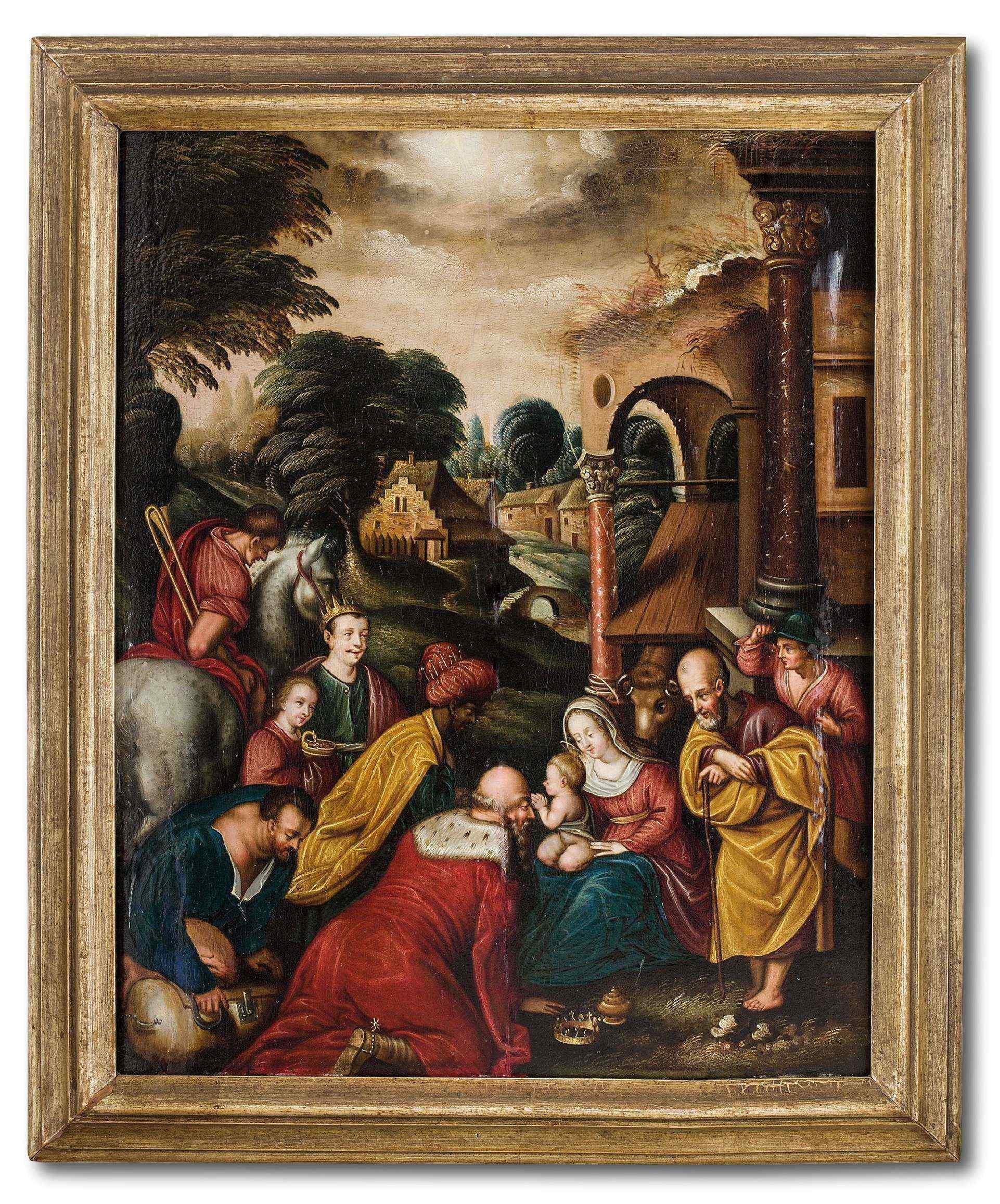 Adoration des Mages, début du XVIIe siècle