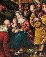 Adoration des Mages, début du XVIIe siècle-3