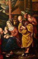 Adoration des Mages, début du XVIIe siècle-5