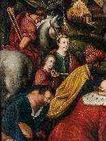 Adoration des Mages, début du XVIIe siècle-12
