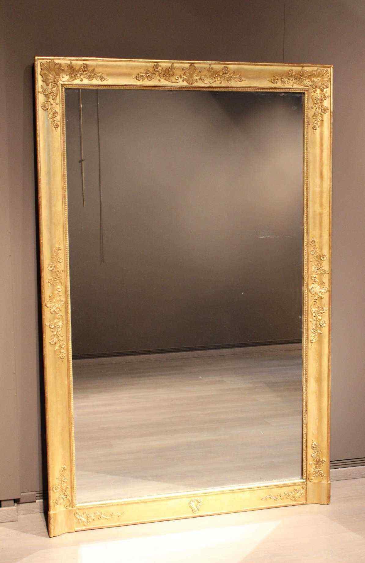 Miroir d'époque Restauration