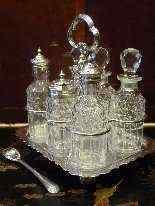 Oliera in metallo argentato, epoca Regina Vittoria-9