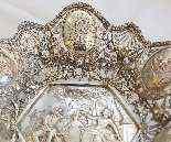 Prezioso centrotavola in argento 800, XIX secolo-4