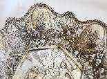 Prezioso centrotavola in argento 800, XIX secolo-8