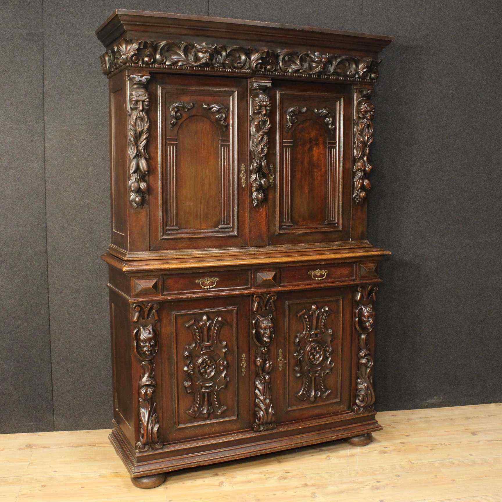 Credenza antica olandese anticswiss for Stili mobili antichi