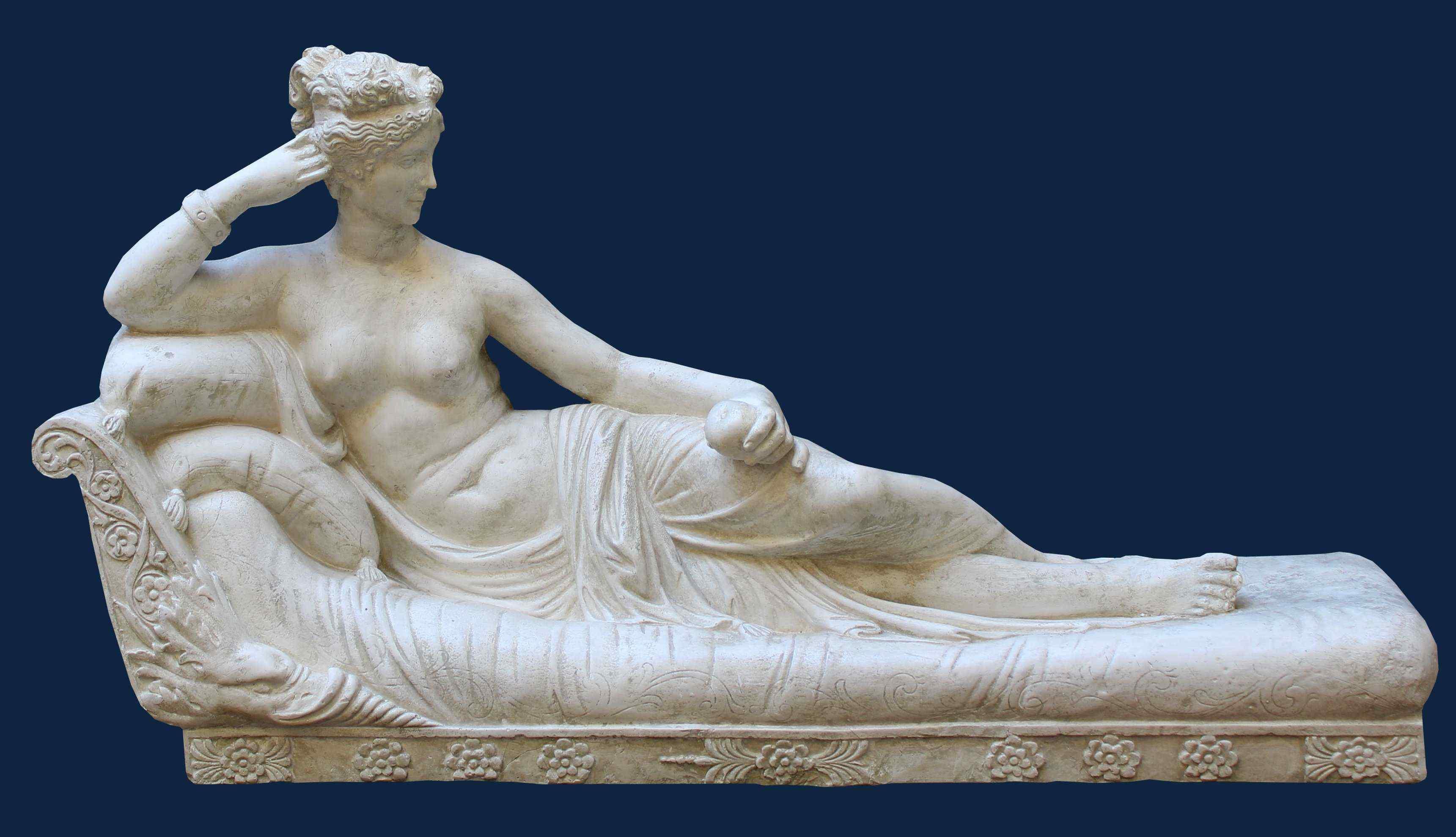 Da Antonio Canova, Paolina Borghese, gesso