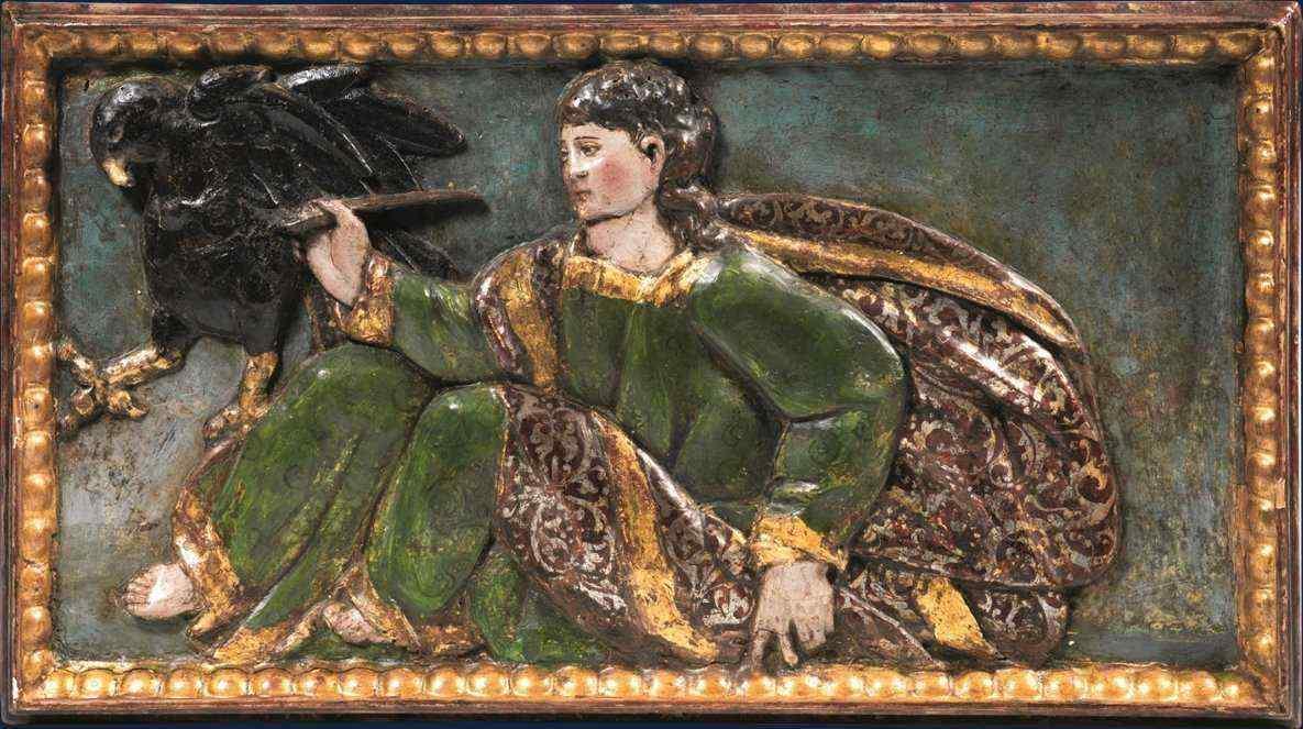 XVII secolo, Bassorilievo ligneo - SAN GIOVANNI