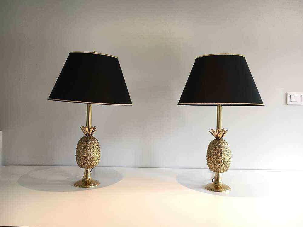 Coppia di lampade antiche, periodo 1970