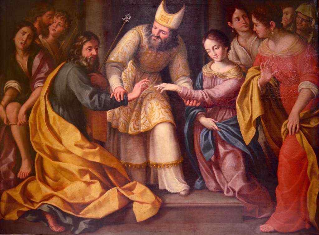 Giovanni Venanzi (1627 - 1705), Sposalizio della Vergine