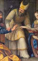 Giovanni Venanzi (1627 - 1705), Sposalizio della Vergine-8