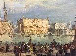 Importante dipinto veduta di Venezia, firmato: Gastaldi 1863-1