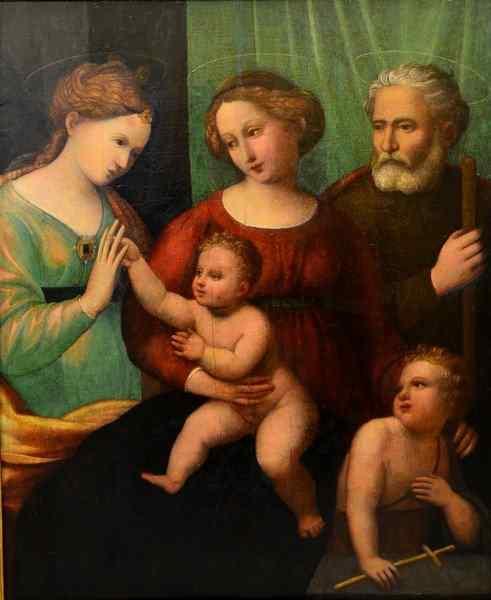 Sposalizio mistico di Santa Caterina, Prima metà XVI secolo