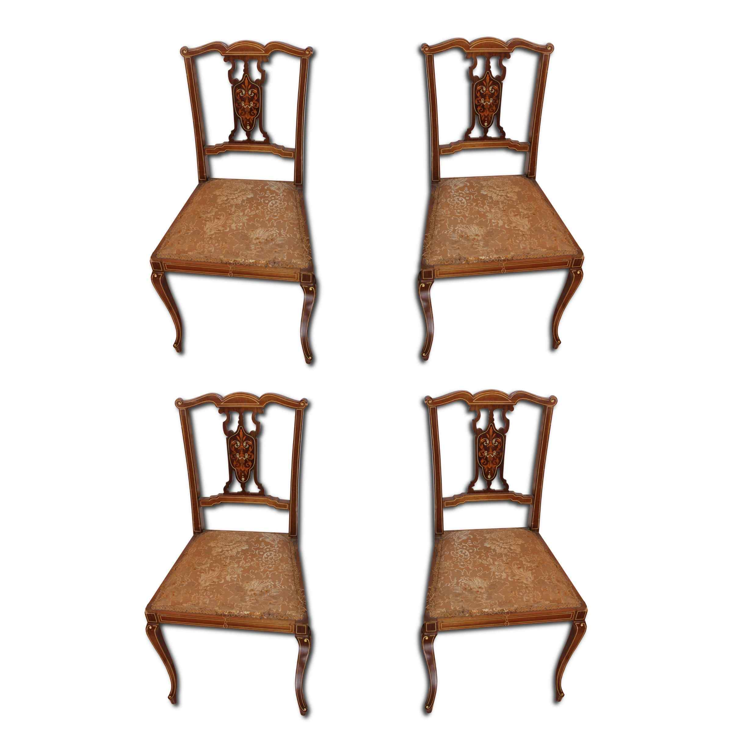 English antique chairs