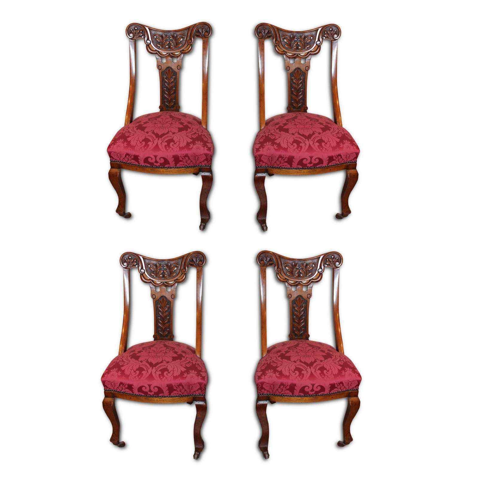 Английские антикварные стулья девятнадцатого века