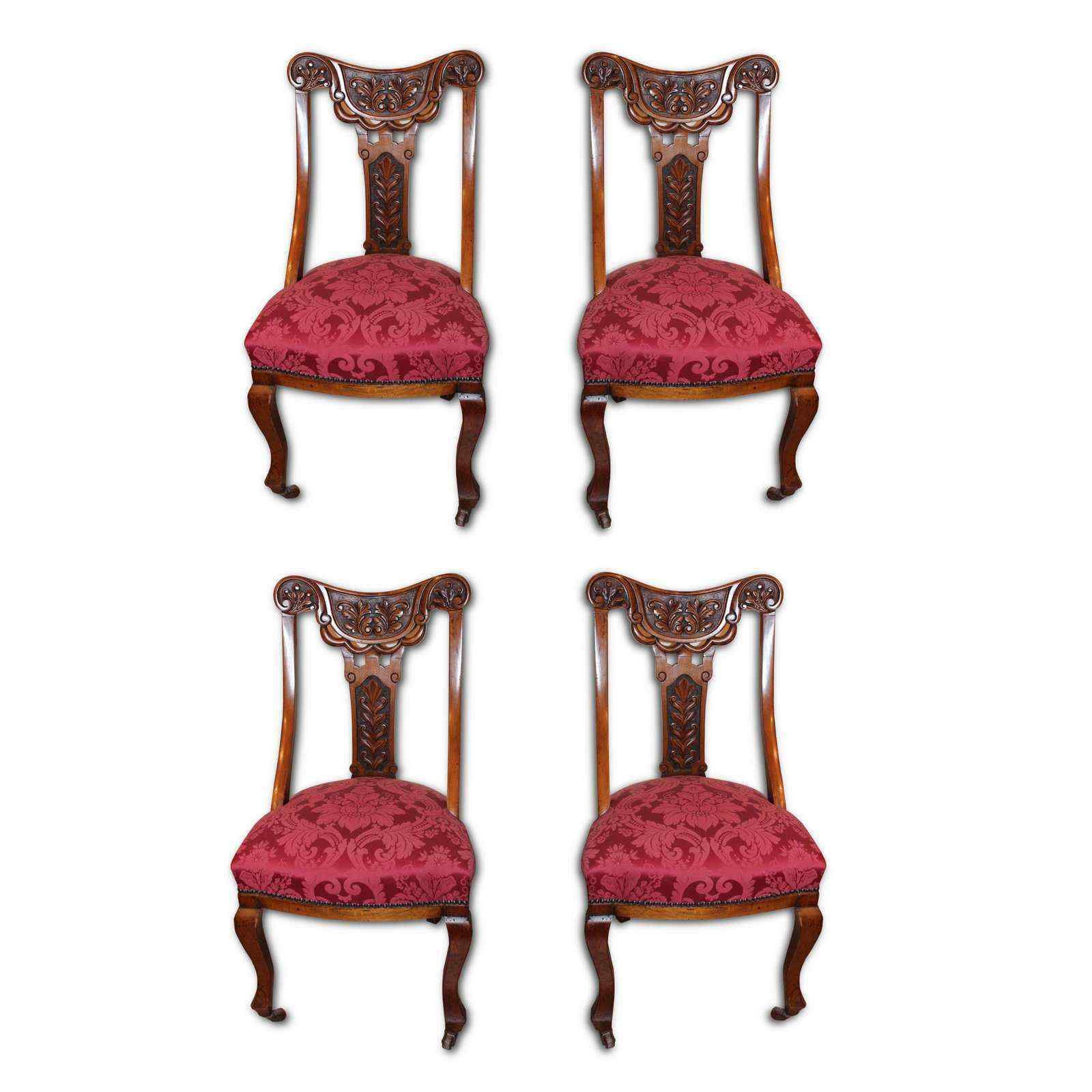 sedie antiche inglesi xix secolo